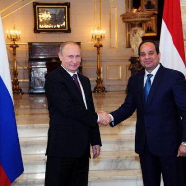 Putin baut  Kooperation mit Ägypten aus