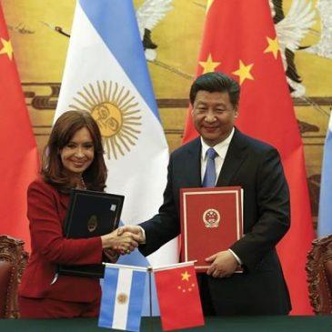 Cristina Fernandez in China