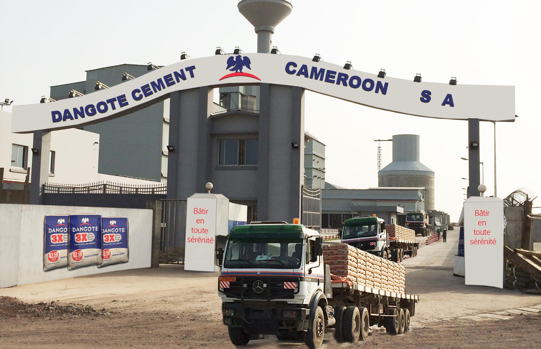 """Dangote-Zementfabrik im kamerunischen Bassaaburg (auch """"Duala"""" genannt)."""