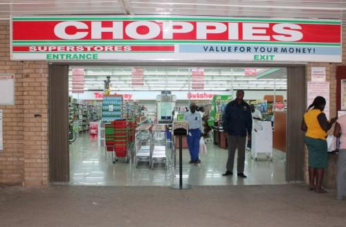 Ein Choppies-Supermarkt