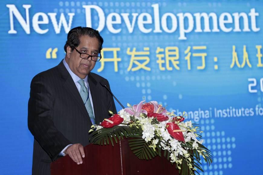 Kundapur Vaman Kamath -- Präsident der Neuen Entwicklungsbank mit Hauptsitz im chinesischen Shanghai