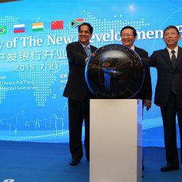 Neue Entwicklungsbank startet Betrieb