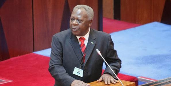 Samuel Sitta -- tansanischer Verkehrsminister