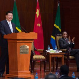 China kurbelt Entwicklung Tansanias an