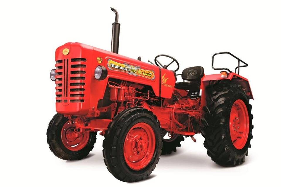 Mahindra-Traktor 395 Di Super Turbo