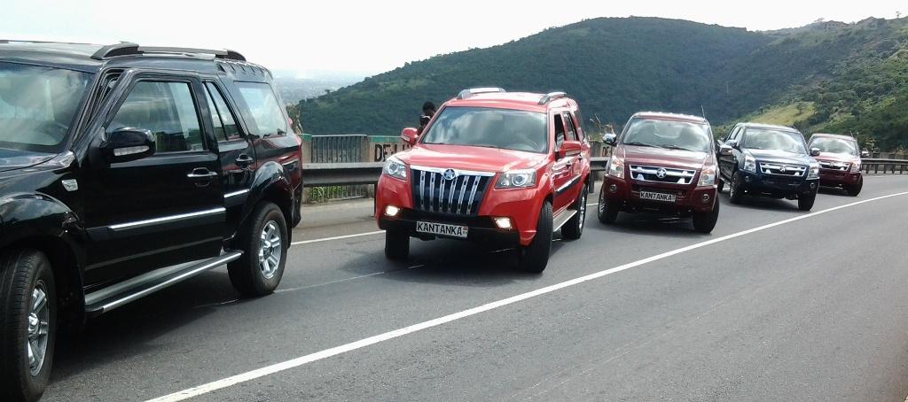 Wagen der Marke Kantanka -- in Afrika von Great Kosa Company hergestellt.