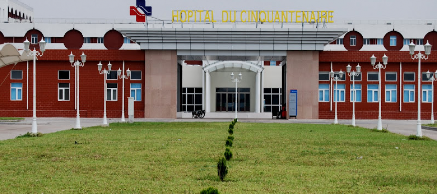 Das hochmoderne Krankenhaus der 50-Jahr-Feier im DR-kongolesischen Kinshasa wurde dank der chinesischen finanziellen Unterstützung endlich erbaut.