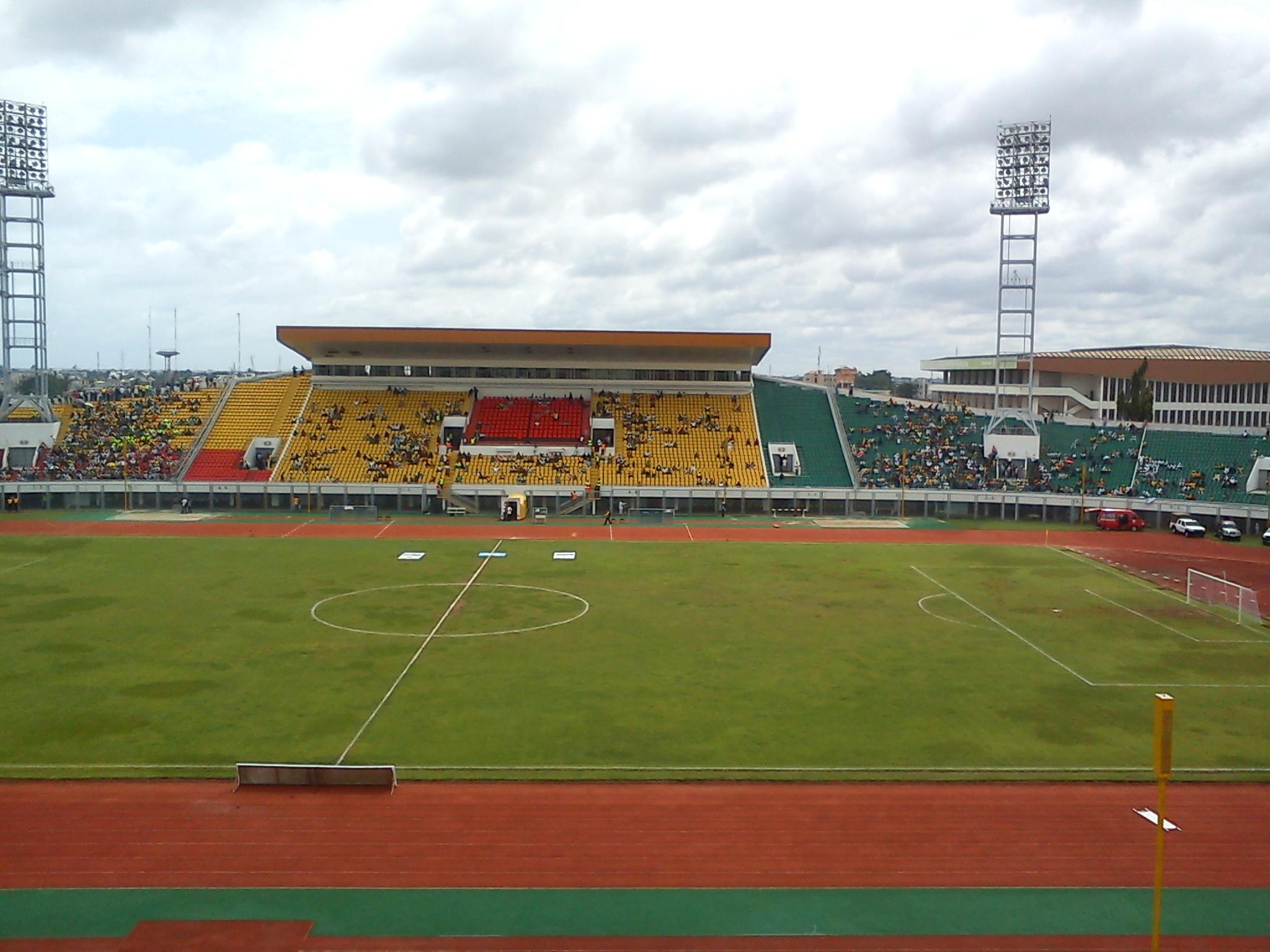 Freundschaftsstadion Cotonou, Benin.