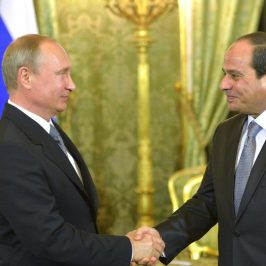 Russen bauen ägyptisches KKW