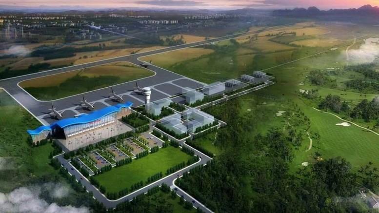 Der künftige internationale Flughafen im sierra-leonischen Mamamah.