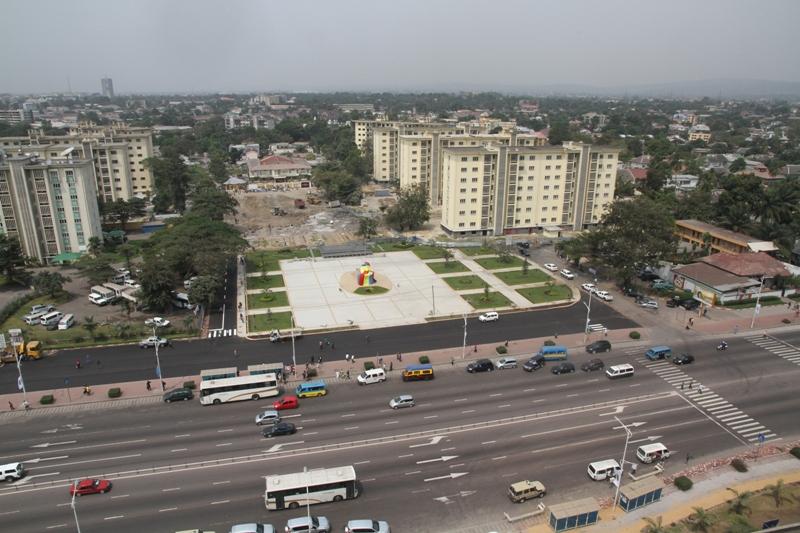 Kinshasa, Hauptstadt der Demokratischen Republik Kongo.