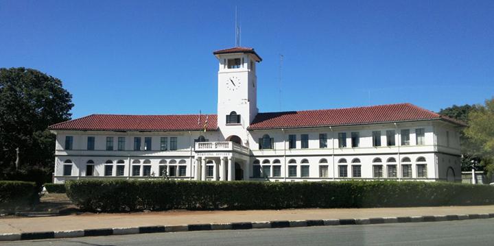 Rathaus von Gueru, Simbabue.