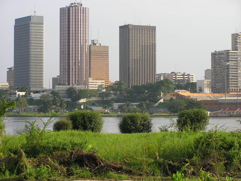 Abidschan, Wirtschaftsmetropole der Elfenbeinküste.