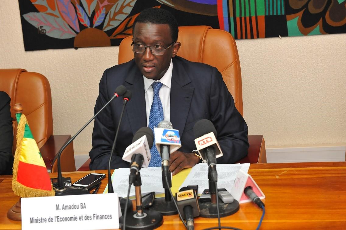 Amadou Bâ, Senegals Wirtschafts- und Finanzminister.