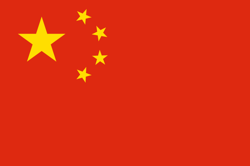 Flagge-Fahne_China