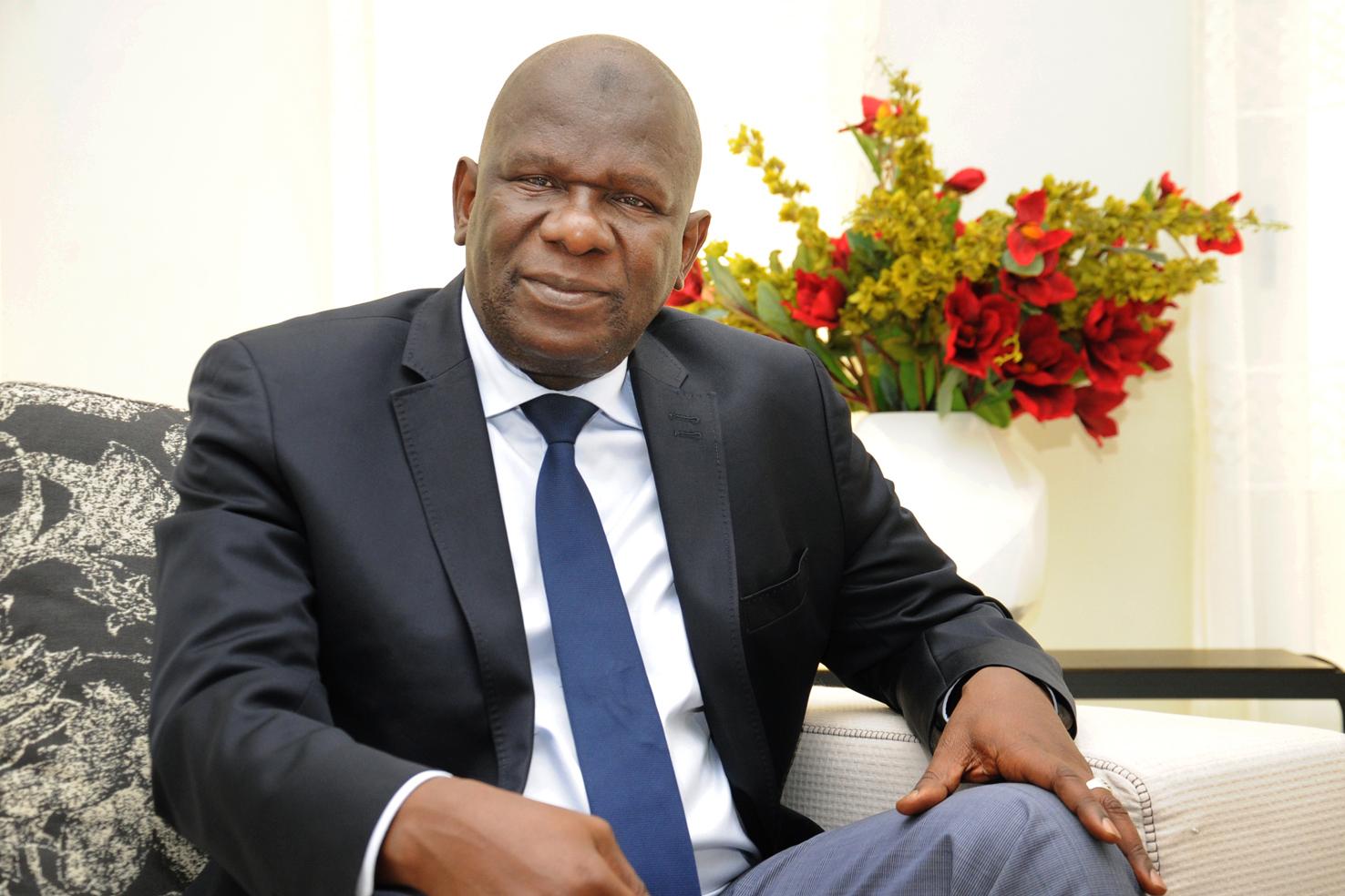 Modibo Koné, Vorstandsvorsitzender der Malischen Gesellschaft für die Textilentwicklung.