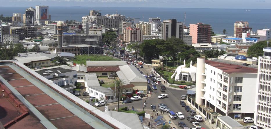 Libreville, politische Hauptstadt Gabuns.
