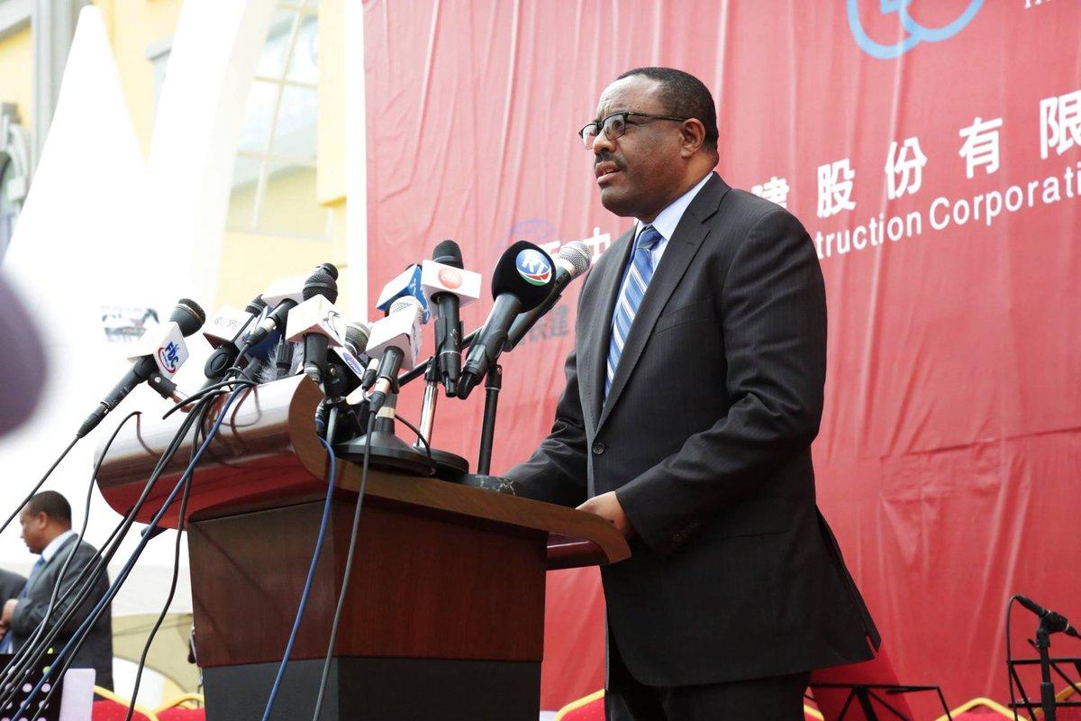 Der äthiopische Premierminister Hailemariam Desalegn am 5. Oktober 2016 in Addis Abeba.