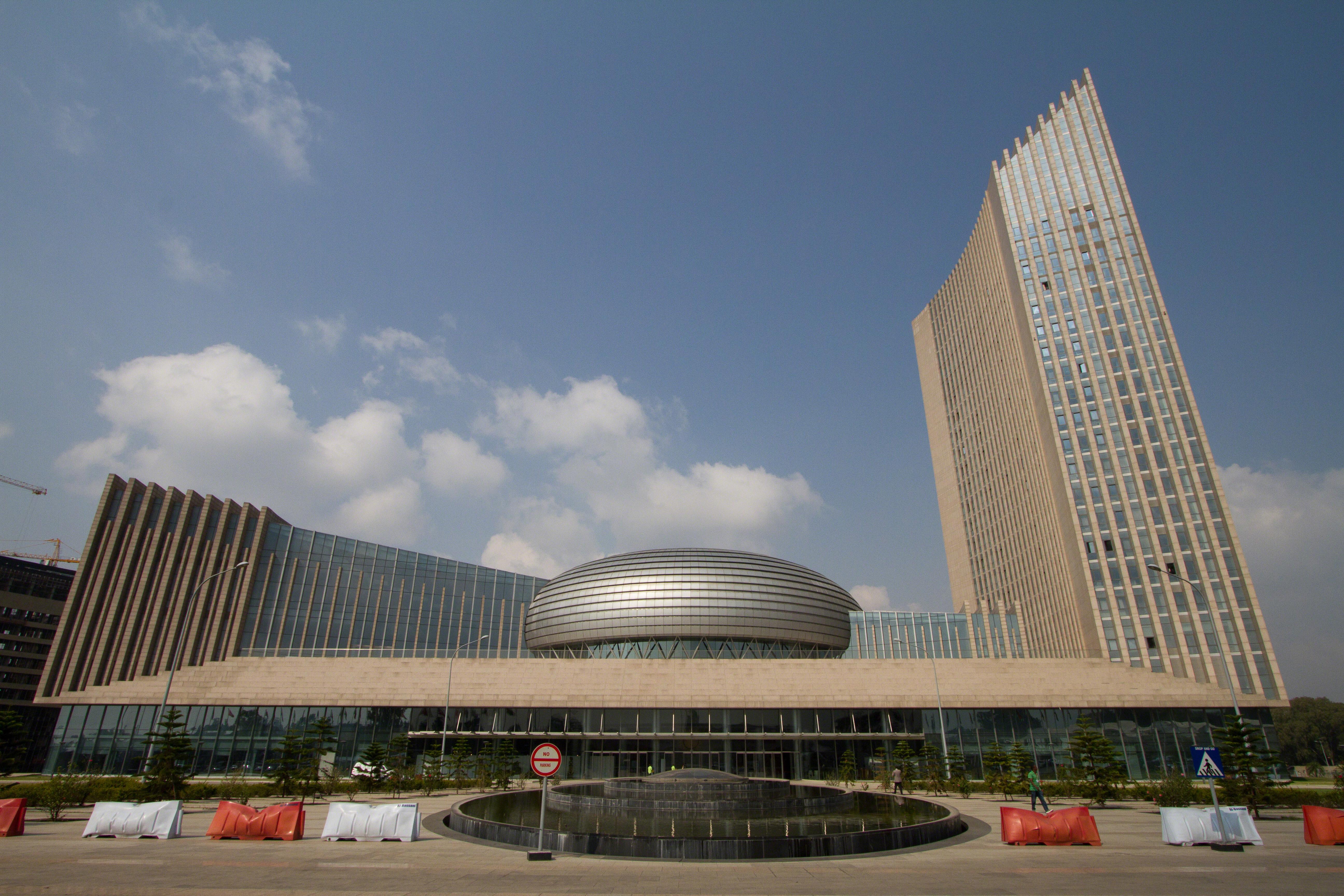 Der Hauptsitz der Afrikanischen Union im äthiopischen Addis Abeba ist ein Geschenk der Volksrepublik China.