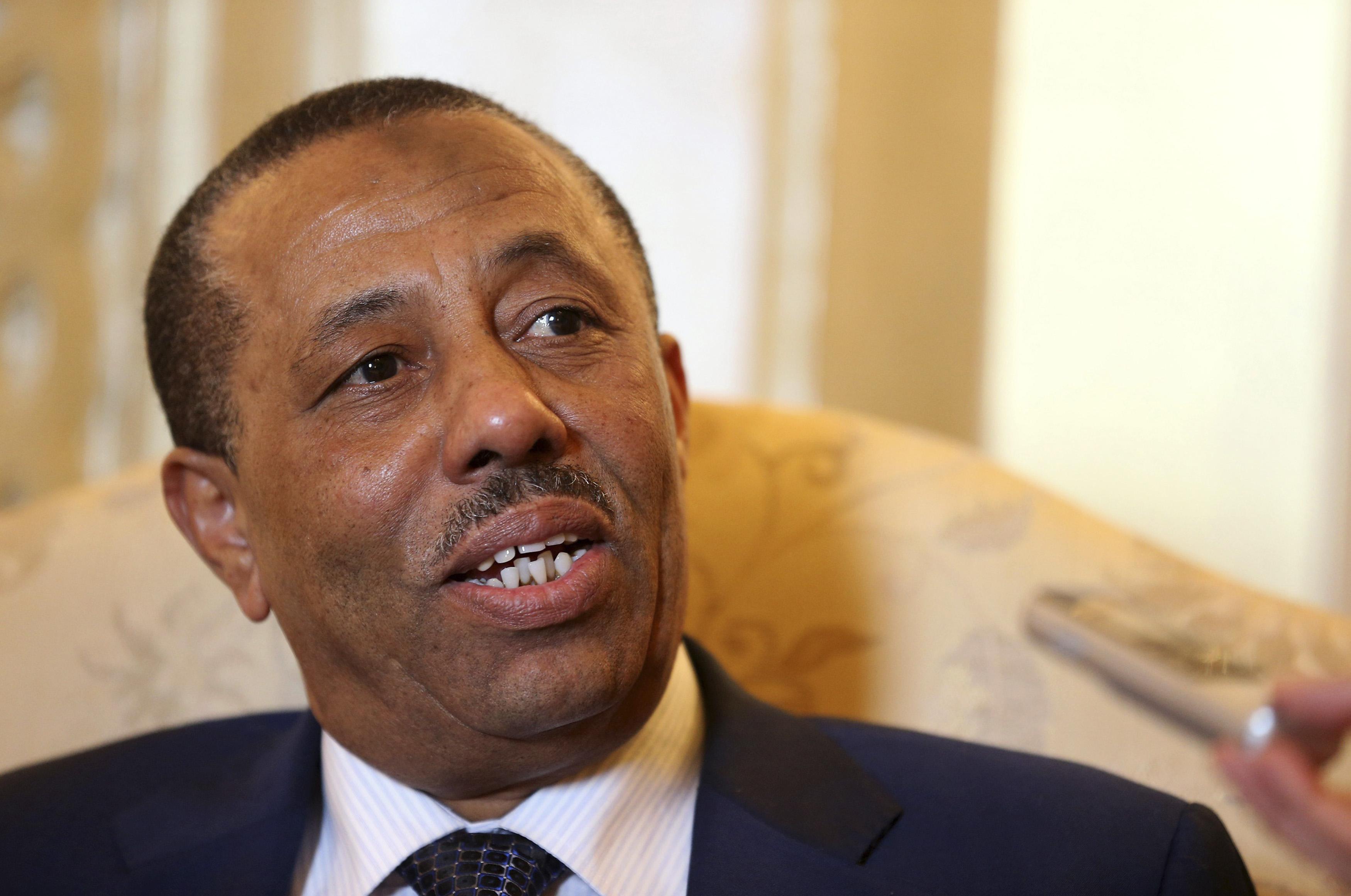 Abdullah el-Thenni, Premierminister Libyens.