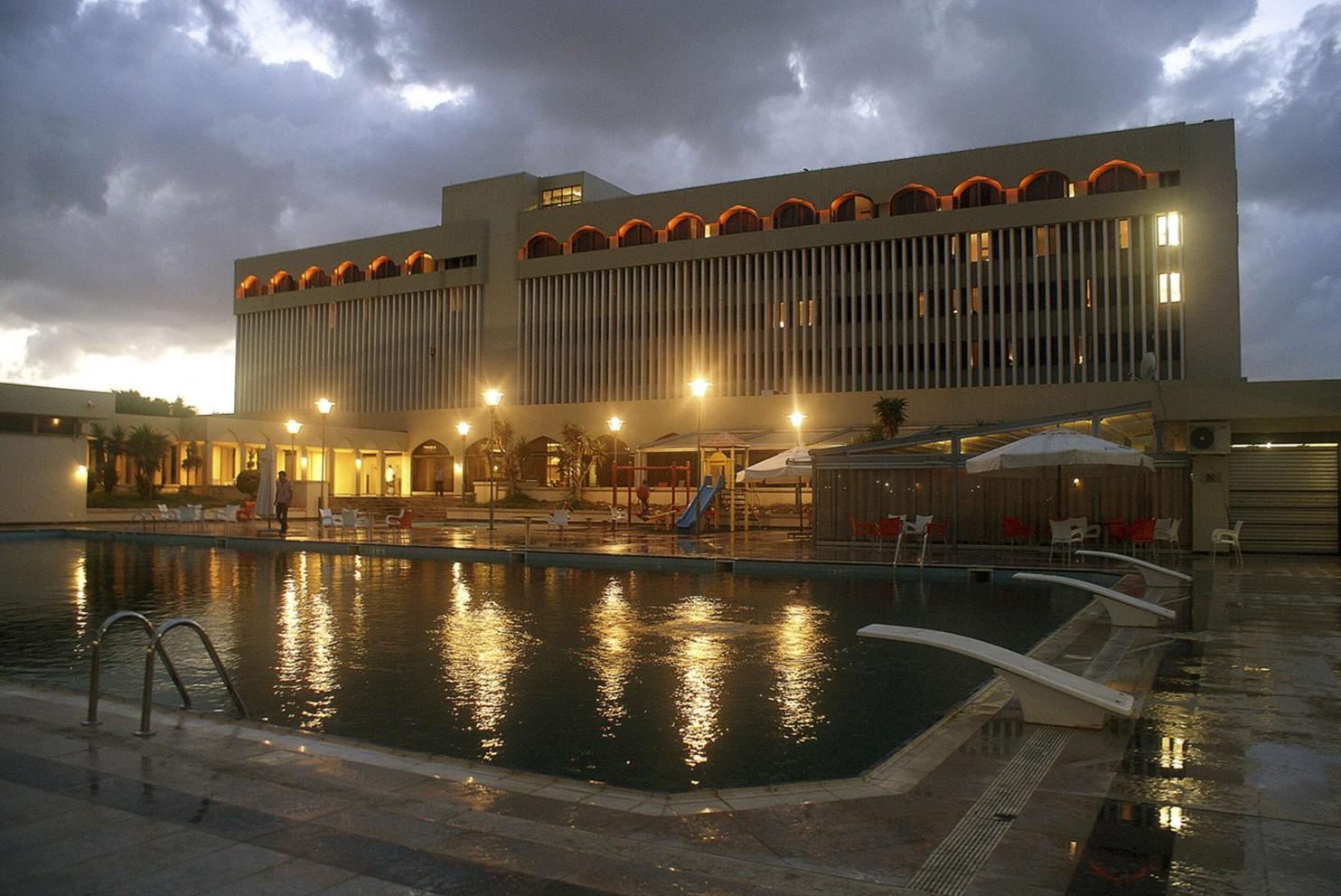 Hotel im libyschen Tobruk.