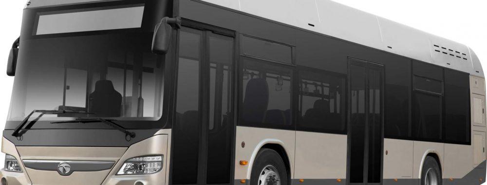 Tata-Busse in der EK